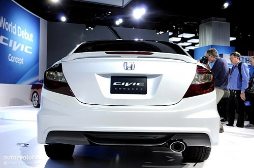 Honda Civic Concept - đổi mới toàn diện ảnh 6