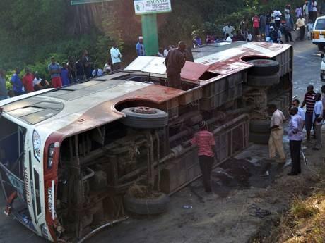 Một vụ tai nạn giao thông ở Kenya