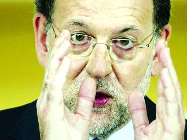 """Thủ tướng Tây Ban Nha Mariano Rajoy: """"Sự tín nhiệm của đồng euro đã chiến thắng"""". Ảnh: BBC"""