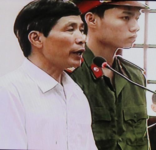 Bị cáo Nguyễn Văn Khanh