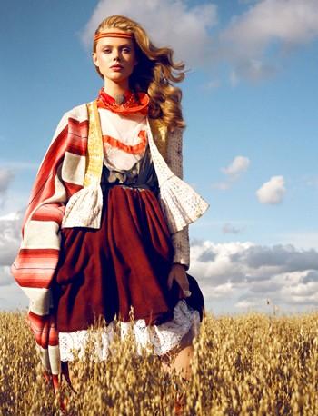 Thiếu nữ Bohemian rạng ngời trong nắng và gió ảnh 1