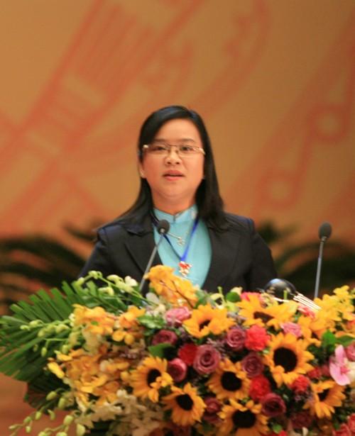 Đại biểu Huỳnh Thị Hoài Thu