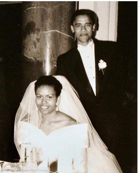 18 tháng 10 năm 1992, ông Barack Obama tổ chức đám cưới tại Chicago. Vợ của ông Obama chính là đệ nhất phu nhân Michelle hiện nay