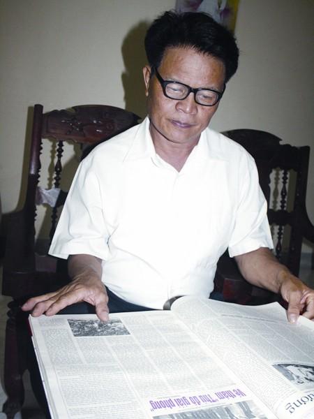 Ông Trần Quang Cơ và những số báo chống tiêu cực trên báo Lao động Nghệ An
