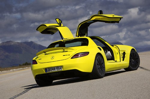 Mercedes-Benz sản xuất SLS AMG E-Cell Prototype ảnh 11