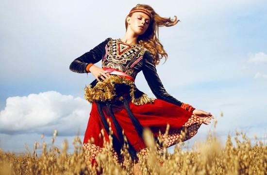 Thiếu nữ Bohemian rạng ngời trong nắng và gió ảnh 7