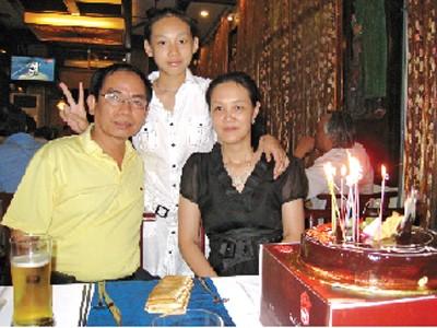 Gia đình thiếu tướng Lê Thu Hà. Ảnh: Nhân vật cung cấp
