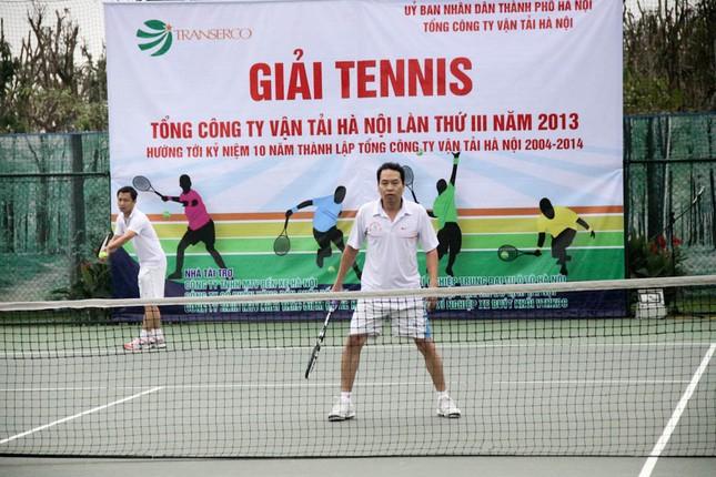 Sôi động giải tennis Transerco lần thứ III ảnh 12