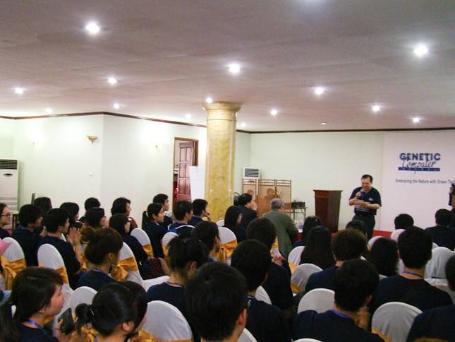 Cuộc hội ngộ sinh viên năm nước vì môi trường xanh ảnh 1