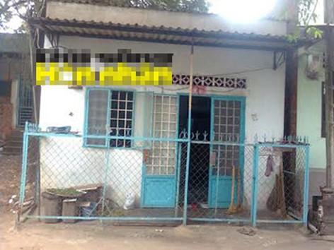 Căn nhà ông Lộc trước kia từng ở