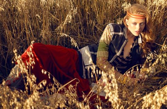 Thiếu nữ Bohemian rạng ngời trong nắng và gió ảnh 5