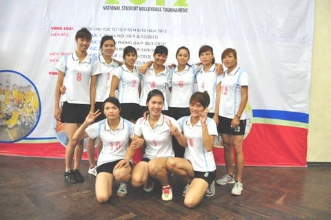 Đội bóng chuyền nữ ĐH Sư phạm TDTT Hà Nội