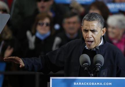 Ông Obama phát biểu tại Madison, Wisconson hôm qua