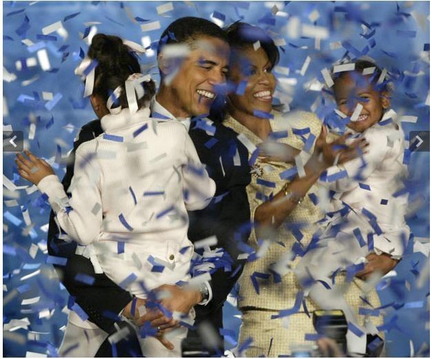 Ngày 2 tháng 11 năm 2004: Obama đắc cử vào Thượng viện Hoa Kỳ