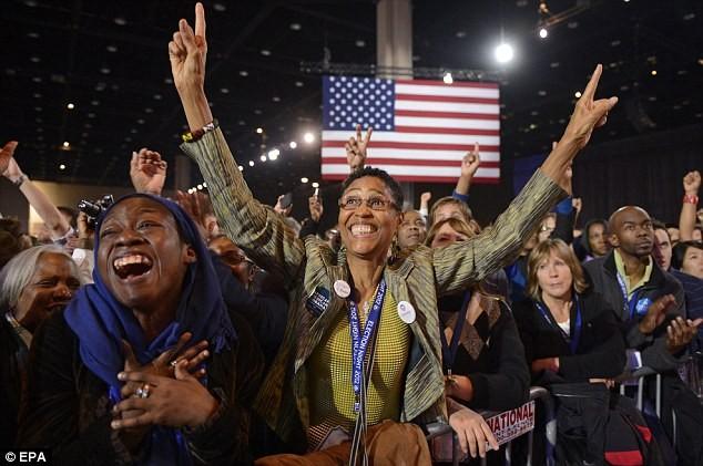 Ông Obama đã giành được sự ủng hộ của cử tri Mỹ trước khi bước vào cuộc bầu cử