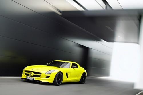 Mercedes-Benz sản xuất SLS AMG E-Cell Prototype ảnh 15