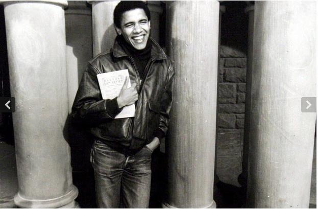 Ông Barack Obama khi đang học tại trường Luật, Đại học Harvard