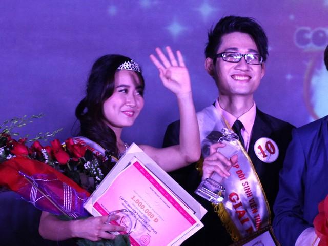 Nam - Ninh Hạnh phúc khi trở thành quán quân của cuộc thi