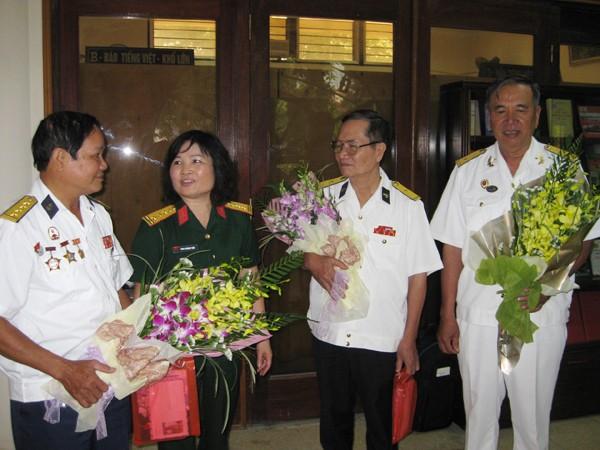 Các chiến sĩ tàu không số tái ngộ ở Hà Nội