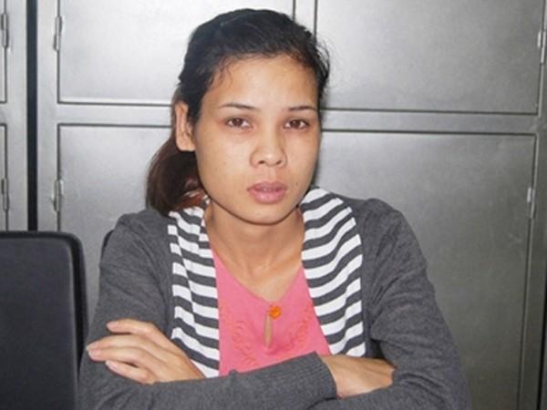 Nguyễn Thị Lệ tại cơ quan điều tra