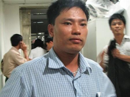 Anh Nguyễn Xuân Việt - người cung cấp thông tin về cháu bé cho cơ quan điều tra. Ảnh: Giaoduc.net.vn