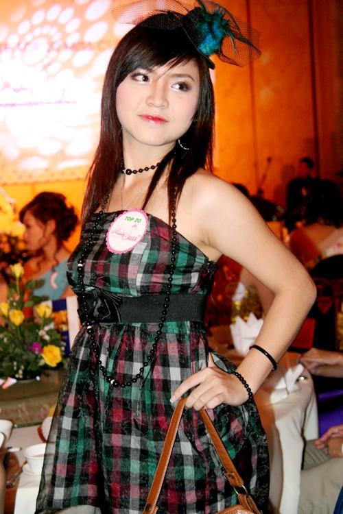 Đào Khánh Phương cũng là một trong 20 gương mặt xuất sắc Miss Cuxi