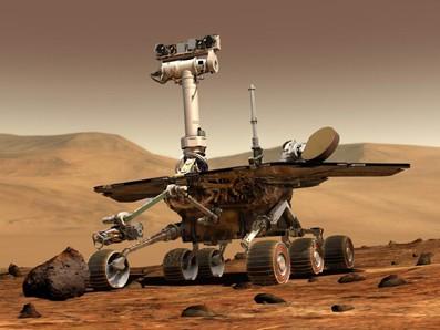 Mars Pathfinder, thiết bị đổ bộ xuống sao Hỏa năm 1997. Đây là dự ánh thành công của NASA theo phương châm nhanh hơn, tốt hơn, rẻ hơn