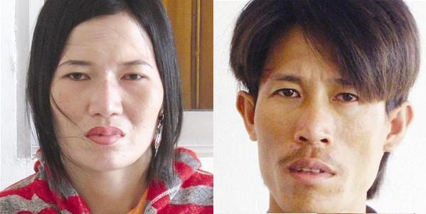 Bị cáo Mã Ngọc Thơm và Huỳnh Thanh Giang Ảnh: N.T.H