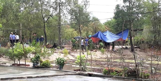 Hiện trường án mạng xảy ra rại thôn 6, xã Gio Hải, huyện Gio Linh, Quảng Trị. 2