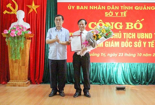 Quảng Trị có tân Giám đốc Sở Y tế ảnh 1