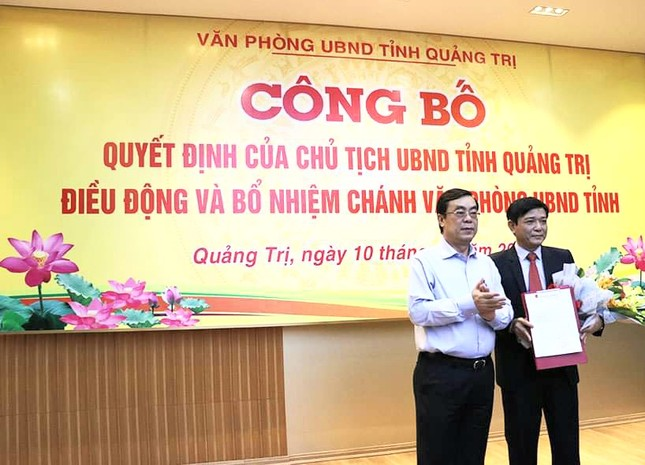 Quảng Trị có tân Chánh Văn phòng UBND tỉnh ảnh 1