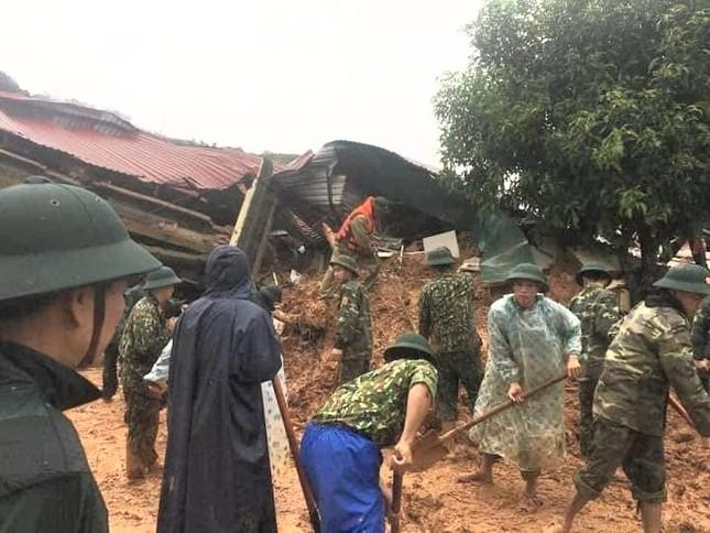 Kinh hãi hiện trường vụ sạt lở đất khiến 22 cán bộ, chiến sĩ ở Quảng Trị mất tích ảnh 2