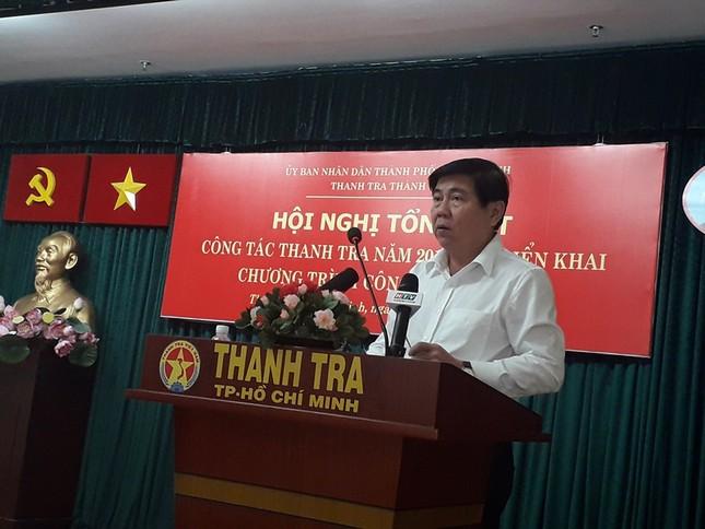 Chủ tịch TPHCM: Nhiều vụ sai phạm rất nặng nhưng chỉ phê bình, khiển trách ảnh 2