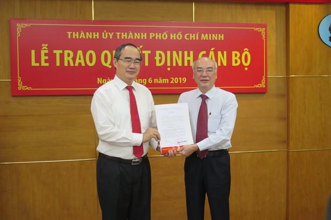 Ban Bí thư chuẩn y 3 ủy viên Ban thường vụ Thành ủy TPHCM ảnh 1