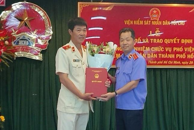 Thư ký của ông Lê Minh Trí làm Phó Viện trưởng Viện KSND TPHCM ảnh 1