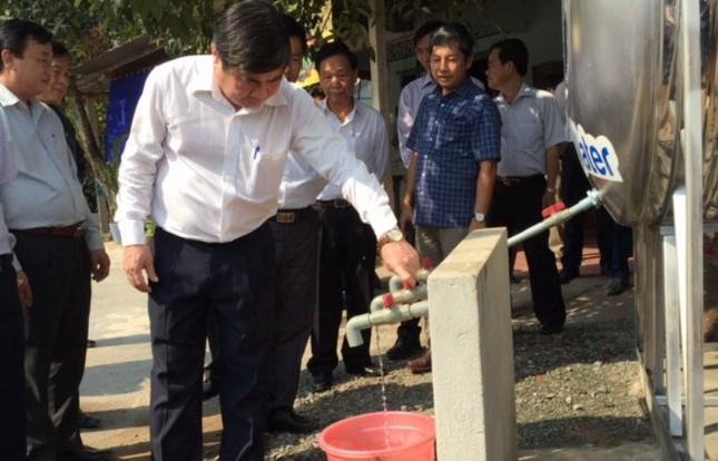 TPHCM miễn phí 3 tháng tiền nước cho hộ nghèo, cận nghèo ảnh 2