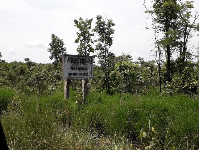 Cận cảnh khu đất làm điện mặt trời Thái Lan muốn mua sát biên giới Campuchia ảnh 9