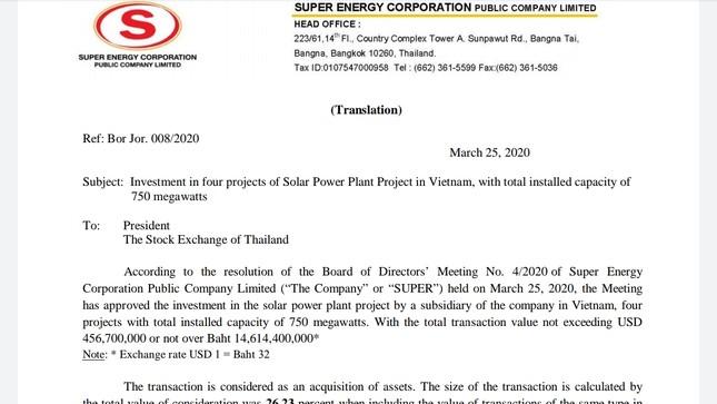 Cận cảnh khu đất làm điện mặt trời Thái Lan muốn mua sát biên giới Campuchia ảnh 1