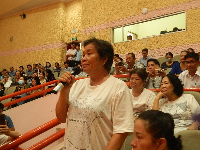 Đại biểu Quốc hội TPHCM: 'Lắng nghe từng tiếng thở của người dân Thủ Thiêm' ảnh 4