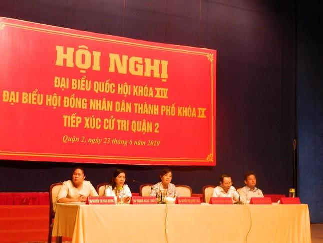 Đại biểu Quốc hội TPHCM: 'Lắng nghe từng tiếng thở của người dân Thủ Thiêm' ảnh 2