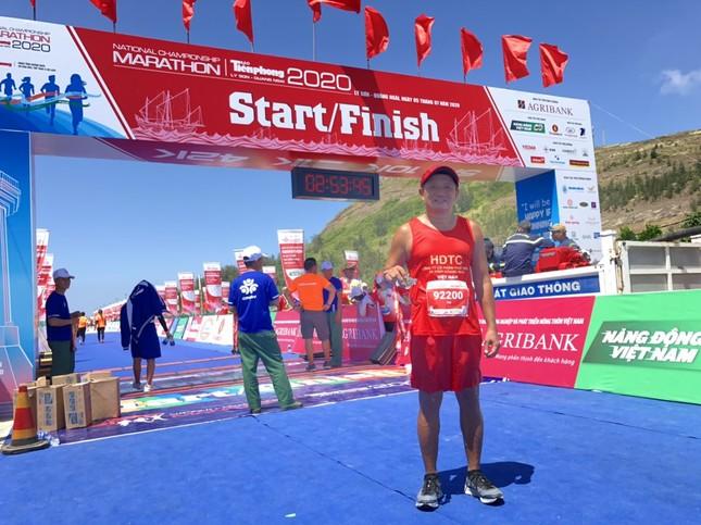 Ông Đoàn Ngọc Hải hoàn thành đường chạy Tiền Phong Marathon ảnh 1