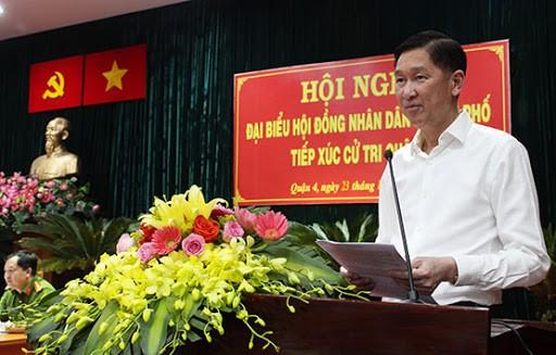 Đình chỉ tư cách đại biểu HĐND TPHCM của ông Trần Vĩnh Tuyến, Trần Trọng Tuấn ảnh 1