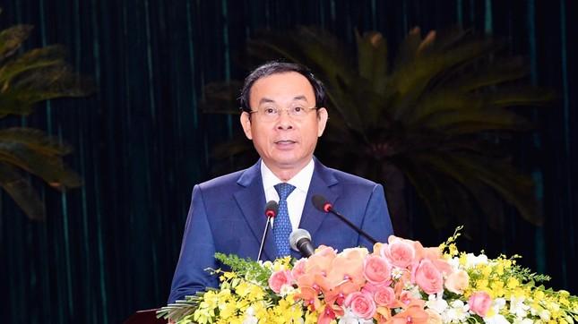 Bí thư Thành ủy Nguyễn Văn Nên: 'Muốn dân tin, lãnh đạo phải gương mẫu' ảnh 3