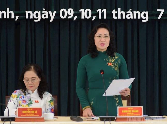 Đề cử bà Phan Thị Thắng, ông Lê Hòa Bình để bầu làm Phó Chủ tịch UBND TPHCM ảnh 3