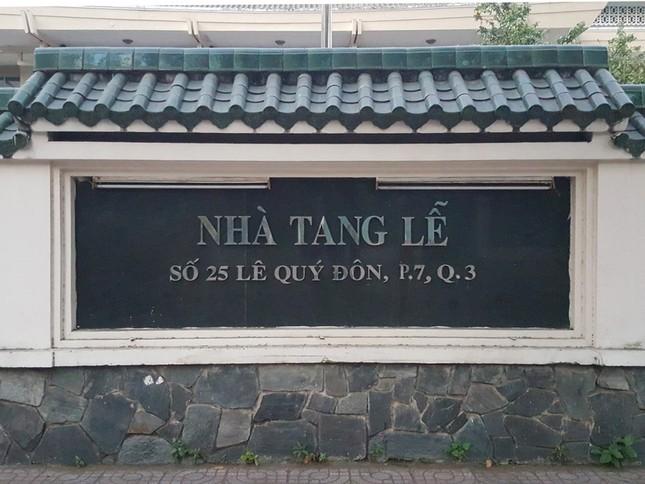 Dừng hoạt động nhà tang lễ ở trung tâm TP. HCM ảnh 1