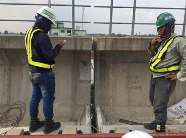 Gối dầm metro Bến Thành – Suối Tiên nhẹ hơn 9 kg so với thiết kế được duyệt ảnh 3