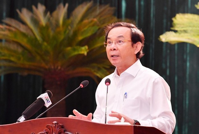 Bí thư Nguyễn Văn Nên: 'Đừng để người dân bắt tội phạm một mình…' ảnh 2