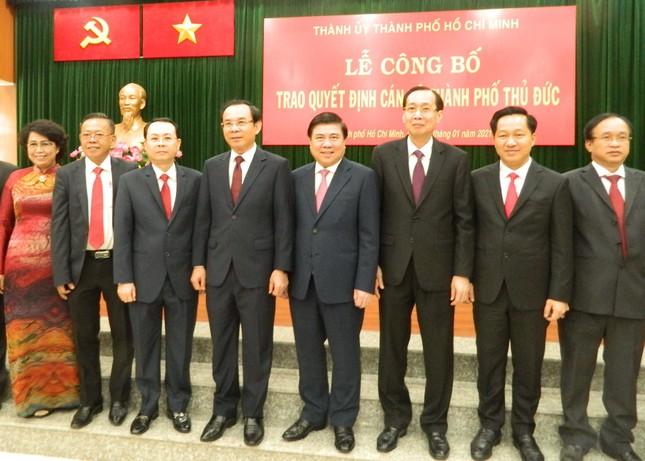 Chân dung các lãnh đạo chủ chốt thành phố Thủ Đức ảnh 5