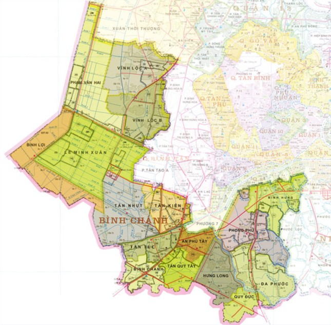 Khi nào ba huyện Hóc Môn, Bình Chánh, Nhà Bè lên quận? ảnh 3