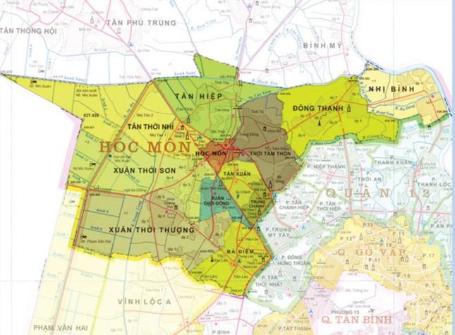 Khi nào ba huyện Hóc Môn, Bình Chánh, Nhà Bè lên quận? ảnh 1